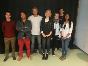 Acht studenten van de Hogeschool van Amsterdam helpen het Noordzeekanaal project op de kaart te zetten. 2 oktober start de crowdfunding.